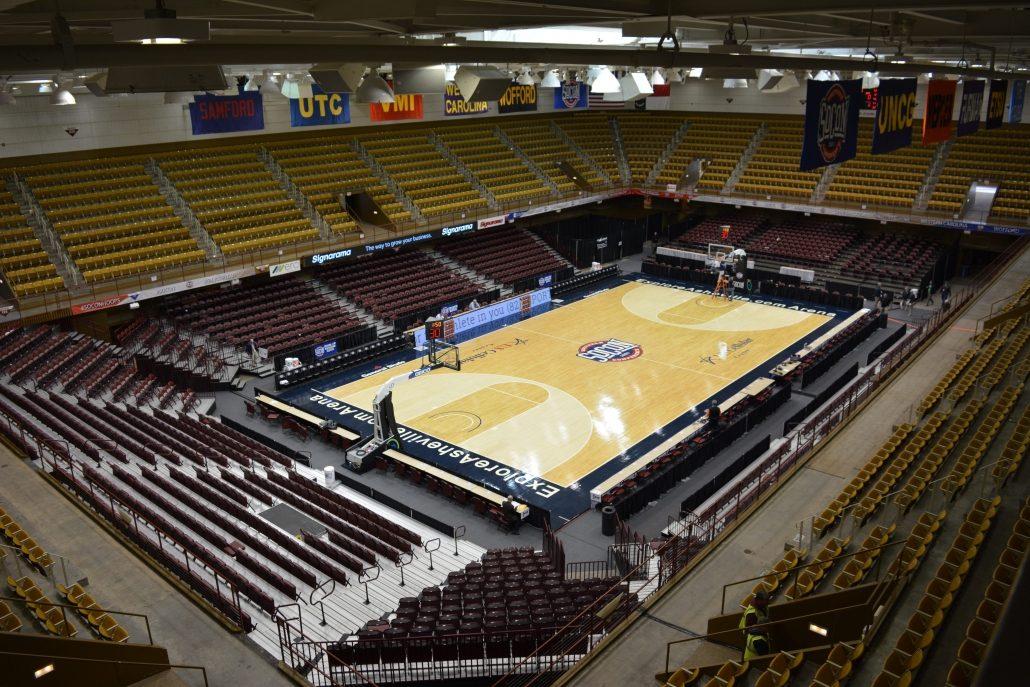 Southern Conference Basketball Tournament setup