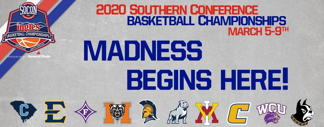 The 2020 Ingles Southern Conference Basketball Tournament