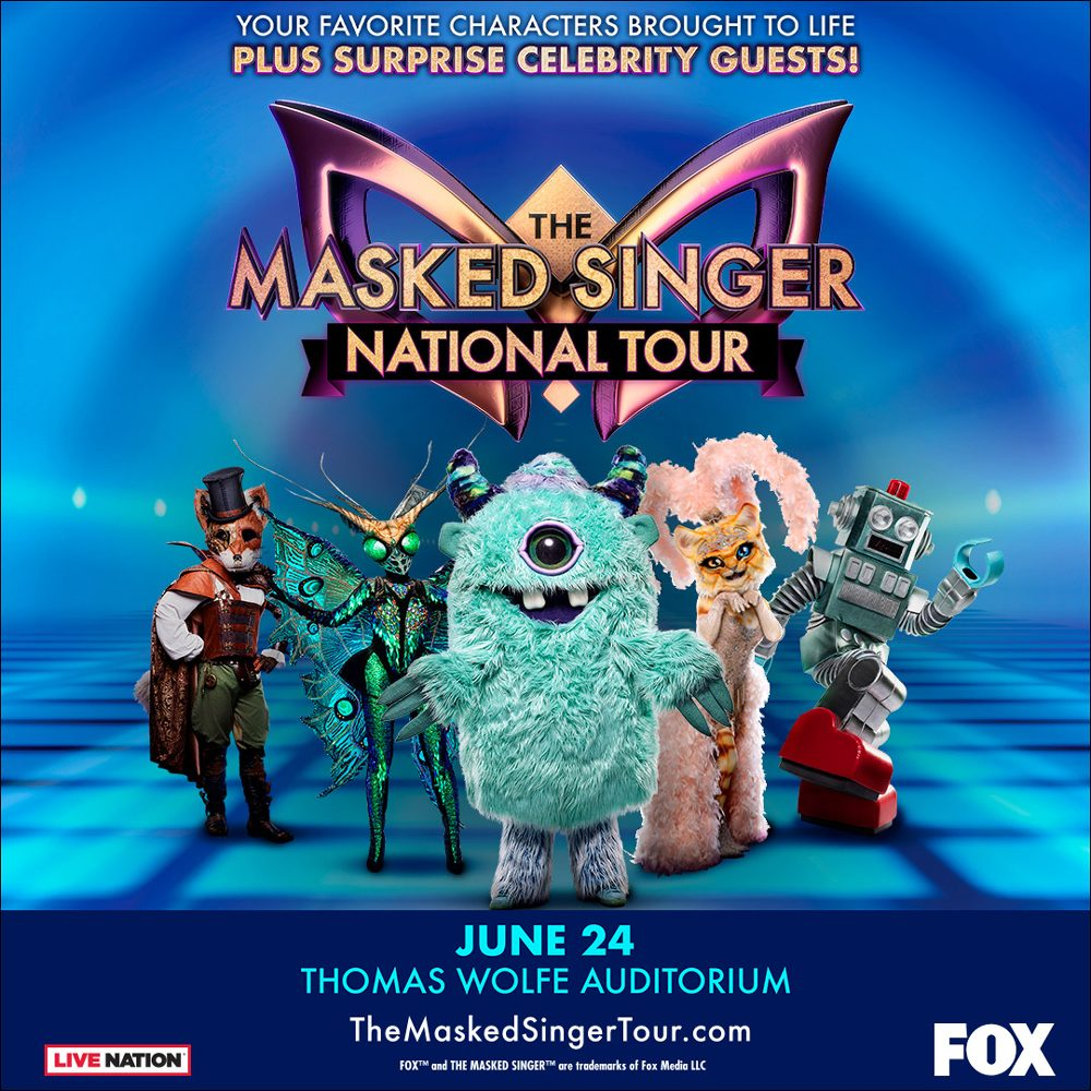 CACNCELLED: The Masked Singer National Tour