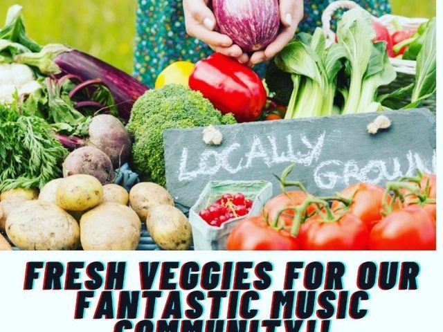 Fresh Food Boxes For Our Fantastic Music Community