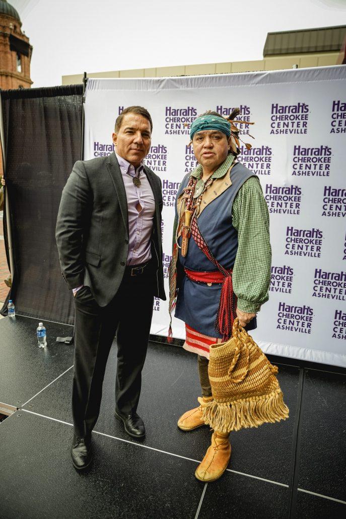 Harrah's Cherokee Center – Asheville Naming Ceremony