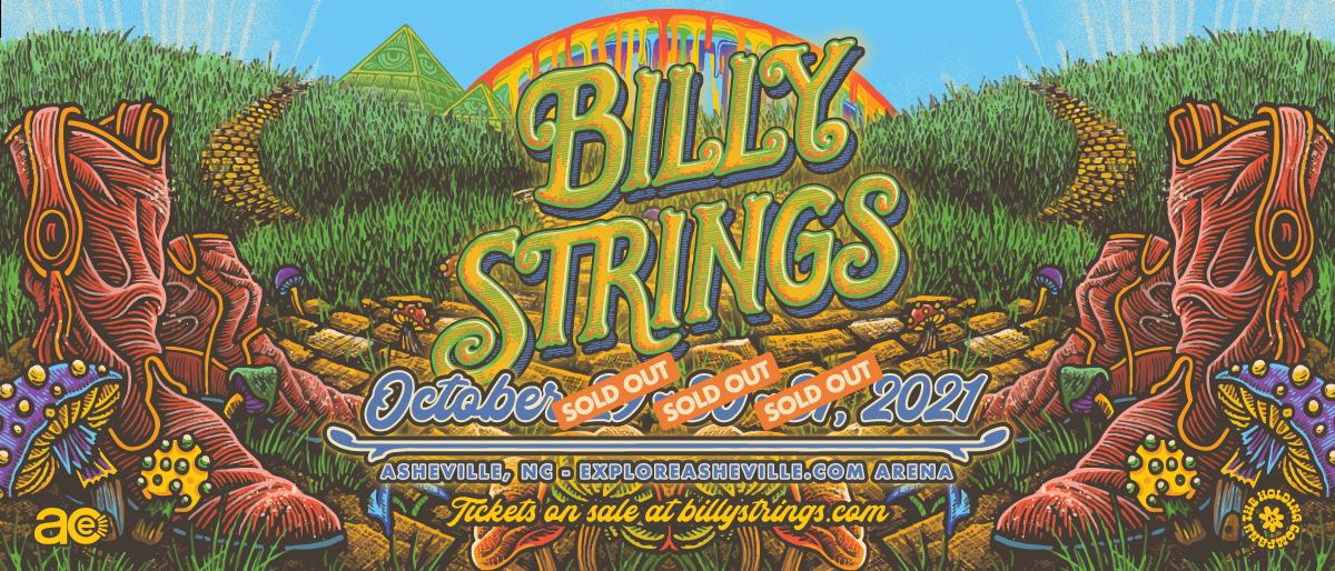 Billy Strings 3 Night Halloween Run